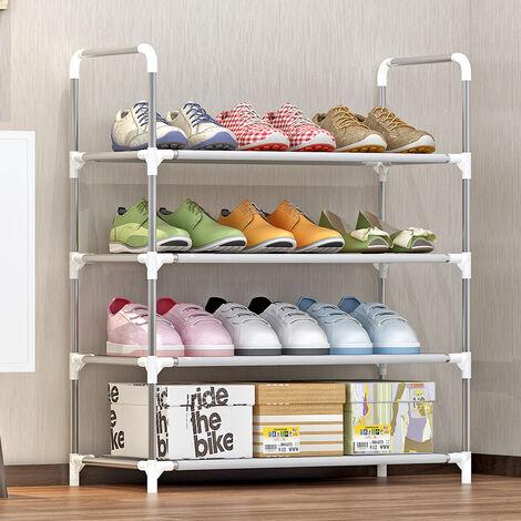 Ensamble el estante para zapatos, el tubo antioxidante + el estante de almacenamiento no tejido