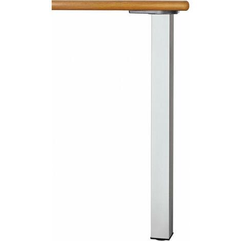 """main image of """"Ensemble 4 pieds de table 60x60 710 mm acier"""""""