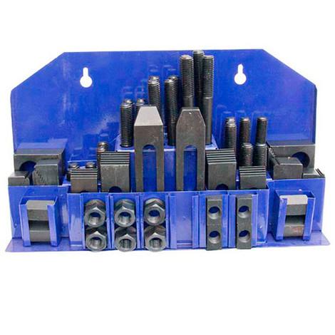Ensemble 52 pcs de brides de serrage M10 - MB-SPES10 - Métalprofi - -