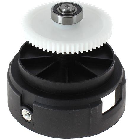 Ensemble axe + roue pour Coupe bordures Black & decker