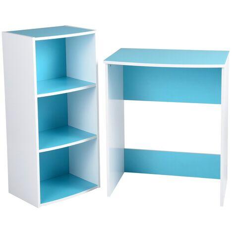 Ensemble bureau Anclu Turquoise