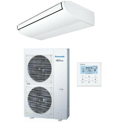 Ensemble climatisation console plafonnier 10kW inverter 230V mono-split R410A PACi Elite PANASONIC KIT-100PT2E5A