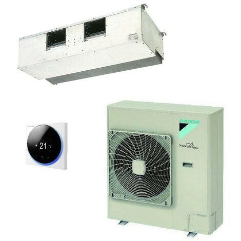 Ensemble climatisation gainable 12.5KW reversible forte pression débit 2580m3/h complet (UI +UE + telecommande) DAIKIN