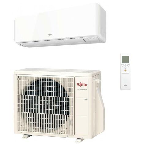 Ensemble climatisation mural 3.5KW reversible DC inverter complet (UI + UE) R32 ASYG12KMCC TAKAO M2 CONFORT ATLANTIC FUJITSU