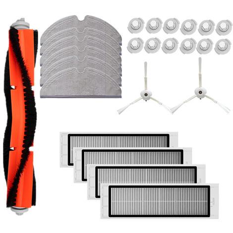 Ensemble d'accessoires Mi Sweeper, 1 brosse principale + 4 tamis filtrants + 2 trois griffes + 6 vadrouilles + 12 noyaux d'eau