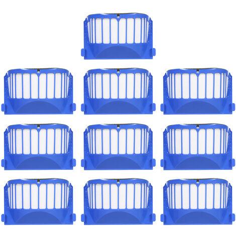 Ensemble de 10 accessoires pour aspirateur serie iRobot6 (10 filtres)