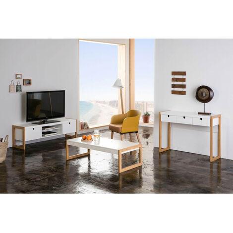 Ensemble de 2 fauteuils ORIA moutarde - Jaune
