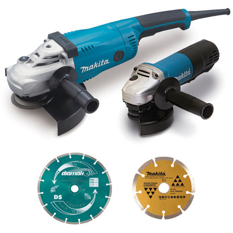 Ensemble de 2 machines avec kit d'accessoires MAKITA - DK0053GX2-P