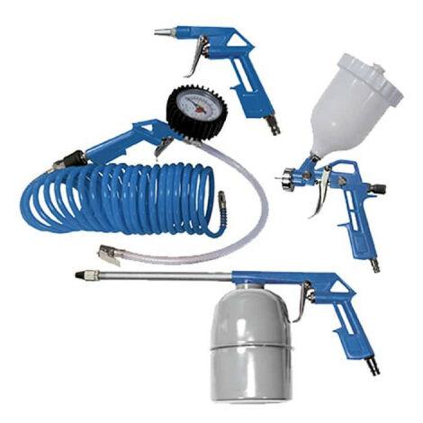 Ensemble de 5 accessoires SCHEPPACH à air comprimé - 3906101704