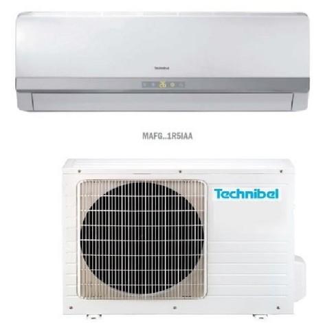 Ensemble de climatisation réversible 3.5KW 12000BTU DC inverter murale blanche complète (UE +UI) R410A TECHNIBEL CSMFGI121R5