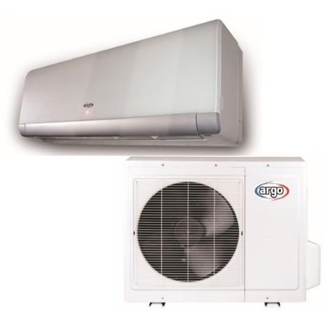 Ensemble de climatisation réversible 3.6KW 12000BTU DC inverter murale façade Alu complète (UE +UI) R410A ARGO X1IG35