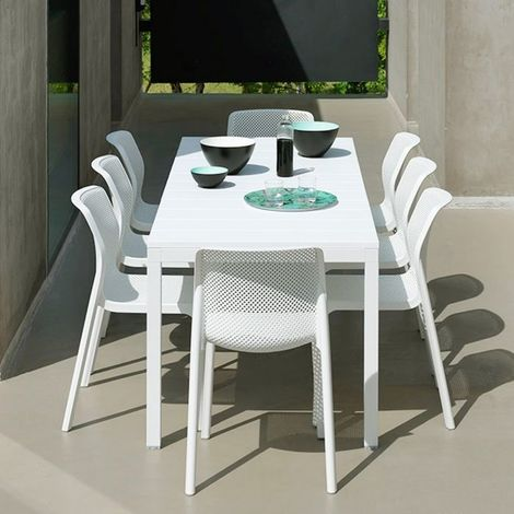 Stunning Table Et Chaise De Jardin Blanche Contemporary ...