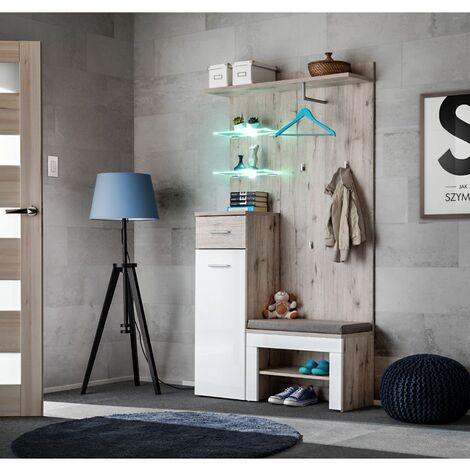 Ensemble de meubles de rangement - GUSTAVO 1 + P - 100 x 35 x 200 cm - Livraison gratuite