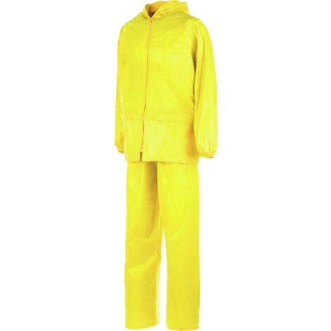 Ensemble de pluie EN 343 jaune
