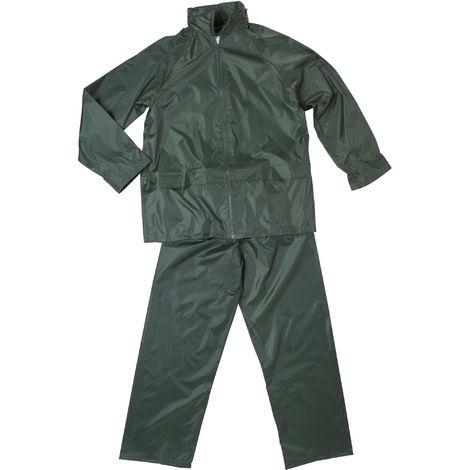 Ensemble de pluie souple Cap Vert - Vert - Taille XL