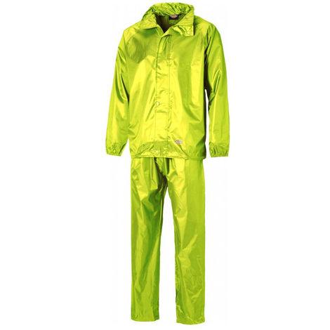 Ensemble de pluie veste + pantalon Dickies Vermont Jaune