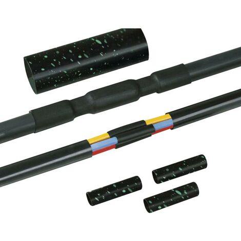Ensemble de raccordement thermorétractable sans éclissages 16 - 55 mm HellermannTyton 380-04007 1 set