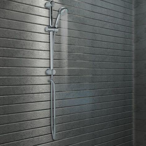 Ensemble de rail de douche et douchette Métal