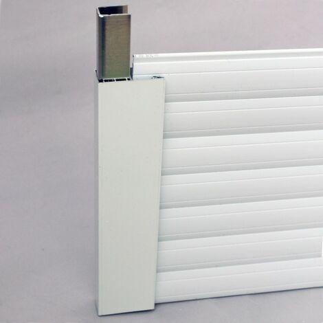 Ensemble de réhausse pour volet PVC - Blanc