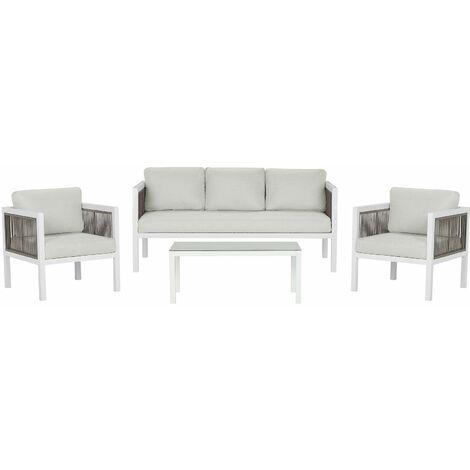 Ensemble de salon avec canapé et fauteuils BORELLO - 122885