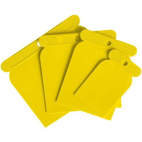 Ensemble de spatules en plastique