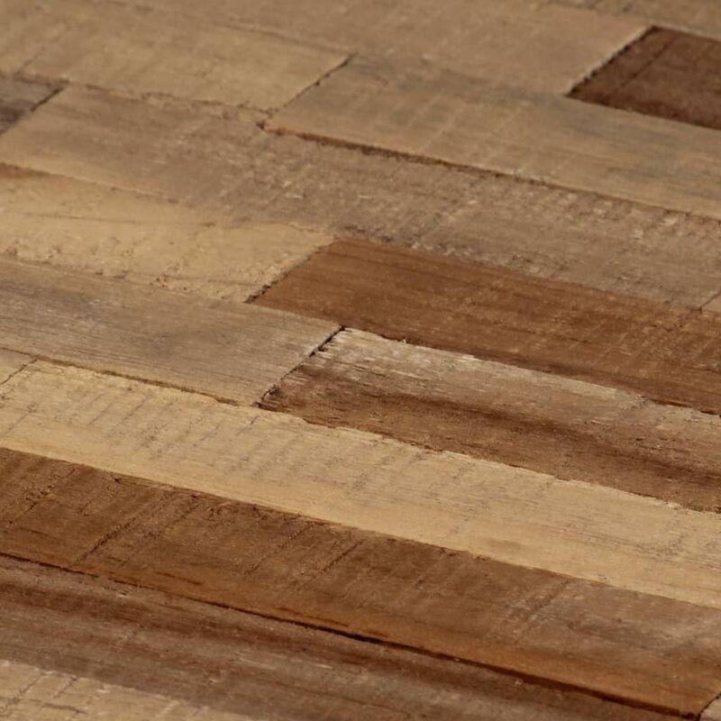 Ensemble de table basse 2 pcs Hexagonal Teck recyclé | Brun -  Meubles/Tables/Consoles/Tables basses | Brun | Brun