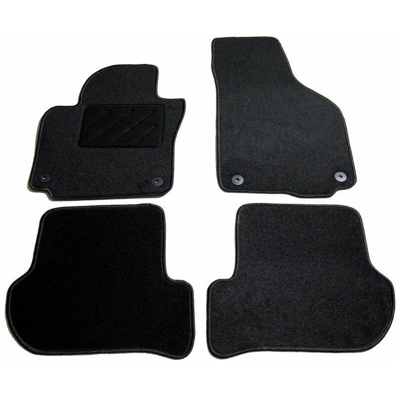 Ensemble de tapis de voiture 4 pcs pour Skoda Yeti123-A