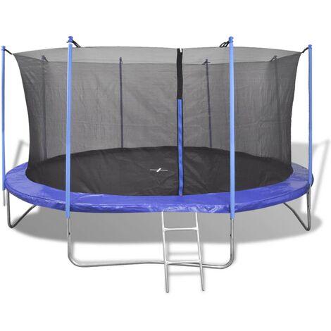 Ensemble de trampoline cinq pièces 3,96 m