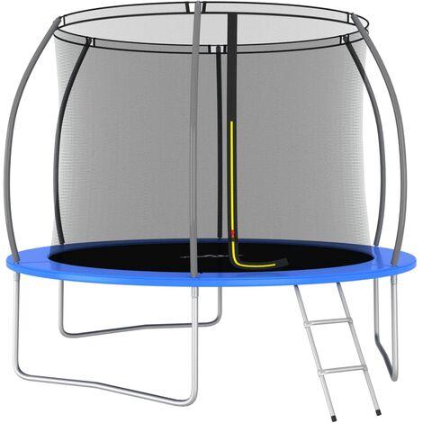 Ensemble de trampoline rond 305x76 cm 150 kg