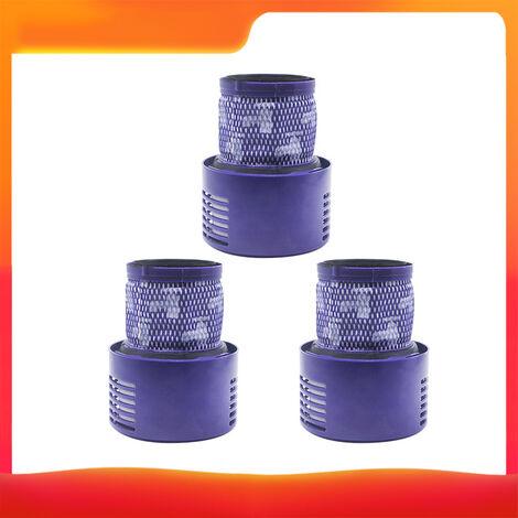 Ensemble de trois accessoires pour aspirateur Dyson (filtre * 3) adapte au modele V10 portable
