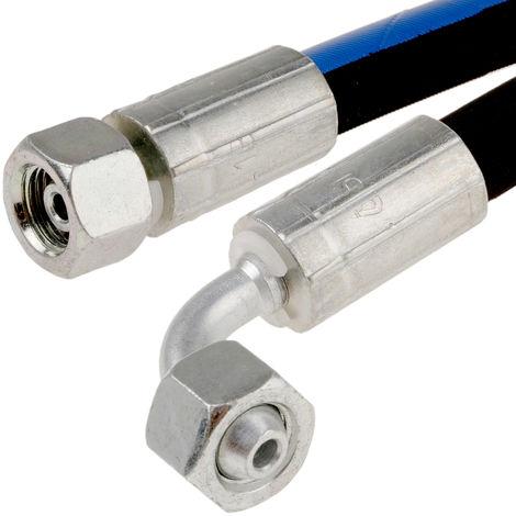 Ensemble de tuyaux hydrauliques Longueur 362mm, Pression max. 400 bars, -40 → +100°C