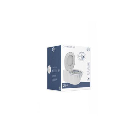 Ensemble de WC combinés Ideal Standard Connect Air sans chasse deau, blanc alpin, K819501 - K819501
