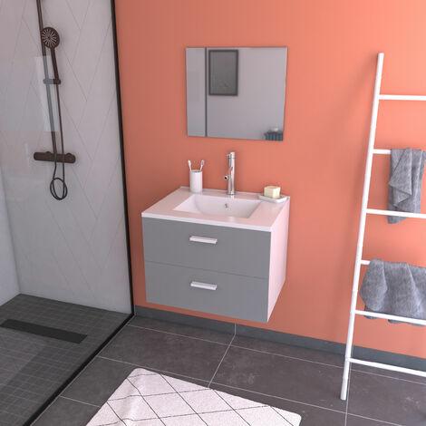 Ensemble design de salle de bain