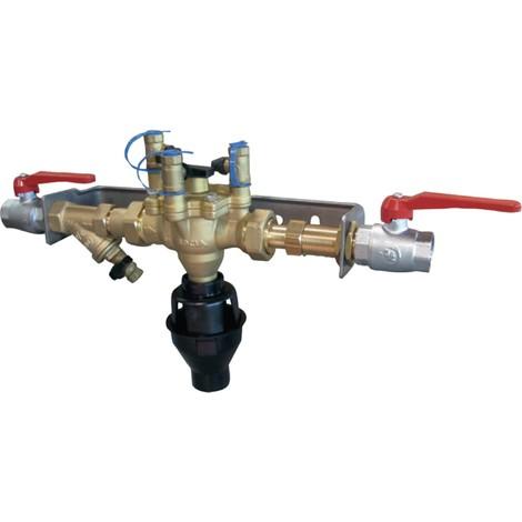 Ensemble disconnecteur BA2860 26x34 + vanne à boisseau sphérique V3000 sans rail réf 149B3192 SOCLA