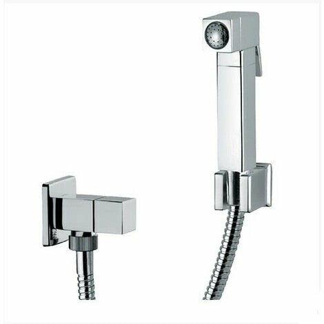Ensemble douchette Hygiénique pour WC avec mitigeur un seul voie