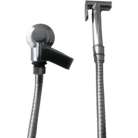 Ensemble douchette Hygiénique pour WC avec robinet