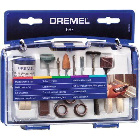 Ensemble d'outils Multiples Dremel 687JA - 52 pièces