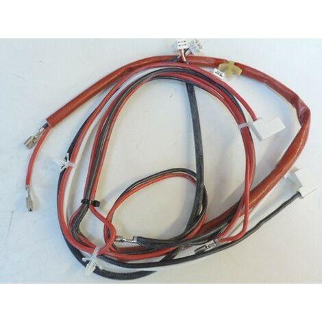 Ensemble filerie pour thermostat de radiateur electrique 2000W RMG2-MK21 THERMOR 083057