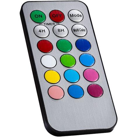 Lot de 3 à piles clignotante flamme bougies en crème-tailles assorties