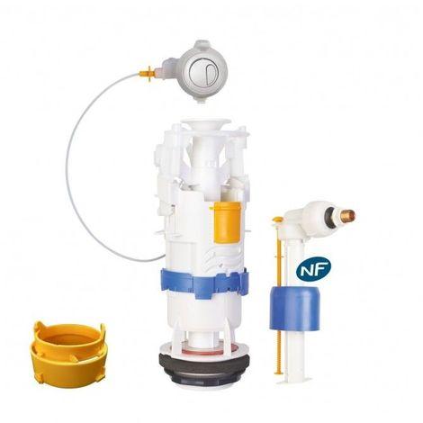 Ensemble mécanisme universel à câble et robinet flotteur hydraulique