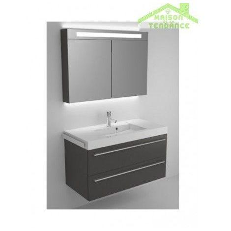 Ensemble meuble & lavabo RIHO BOLOGNA SET 54 100x48x H 58,5 cm