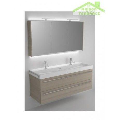 Ensemble meuble & lavabo RIHO BOLOGNA SET 64 140x48x H 58,5 cm