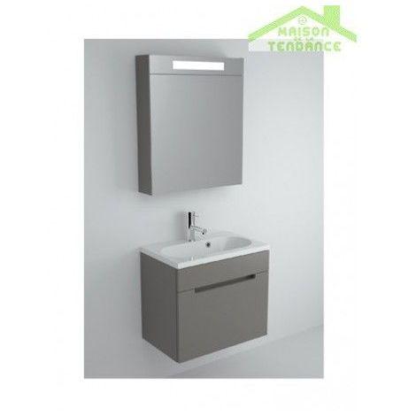 Ensemble meuble & lavabo RIHO ENNA SET 30 60x38 H 53,5 cm