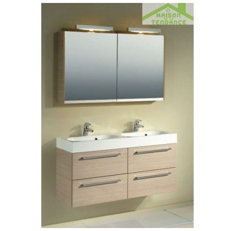 Ensemble meuble & lavabo RIHO SLIMLINE SET 75 120x38 H 60,5 cm