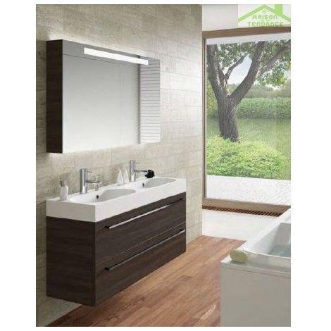 Ensemble meuble & lavabo RIHO SLIMLINE SET 77 120x38 H 60,5 cm