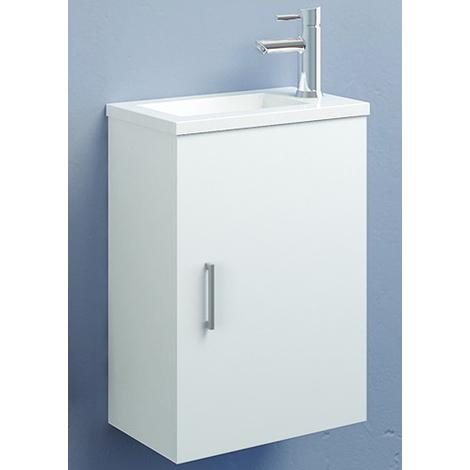 Ensemble meuble lave-mains Ancoflash - Anconetti - Blanc
