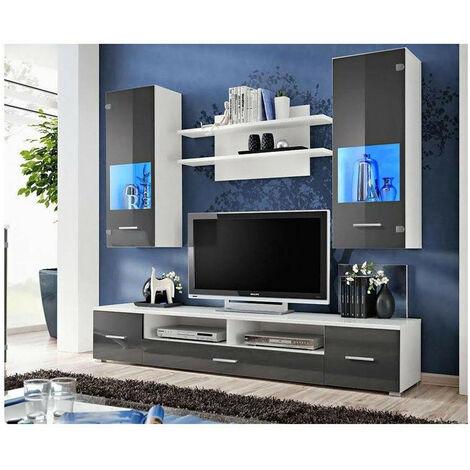 Ensemble meuble TV CORTE II gris