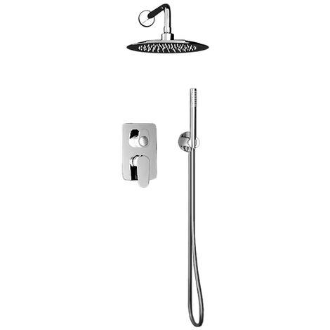 Ensemble mitigeur douche encastré 2 voies - tête de douche - douchette ALEXIA - Ramon Soler K3615021
