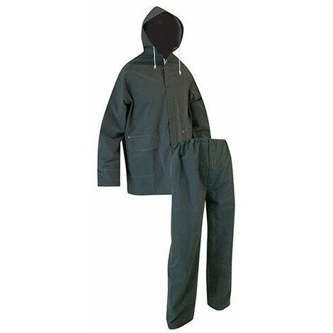 947169fad07 Ensemble pluie imperméable veste + pantalon LMA GIVRE Kaki