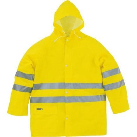 Ensemble pluie jaune fluo 604V2 taille M